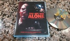 YOUR NOT ALONE DVD! B/MOVIE 2016 FIRST-PERSON HORROR THRILLER!