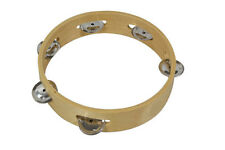 Bryce Tambourine 8 inches - Traditional Wood construction