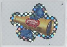 2012 Topps Wacky Packages All-New Series 9 Flash Foil #15 Hubble Bubble Card 0f2