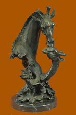 Yard Garden Home Decoration Bronze Animal bronze giraffe statue sculpture Figure