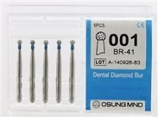 Dental Diamond Burs, Standard Grit Multi-Use, 5 Pcs/Pk [001BR-41]