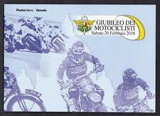 ITALIA 2016 FOLDER POSTE ITALIANE  GIUBILEO DEI MOTOCICLISTI