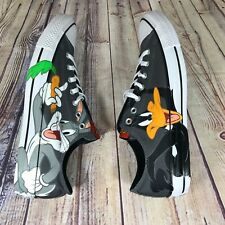 Converse Chuck Taylor All Star Ox X Looney Tunes Bugs Daffy 158892F Size 13