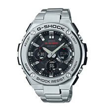 Casio Men G-Shock Stainless Stel Touch Solar Ana/Digital Metal Watch GSTS110D-1A