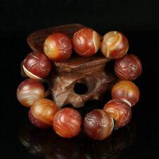 Chinese Exquisite Handmad agate Bracelet
