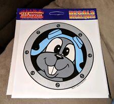 Vintage 1992 Rocky & Bullwinkle Airplane Window Car Decal Sticker Brand New Rare