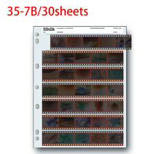 Archival Storage Holder Print File 35-7B 30 Shts for 35mm Film