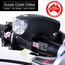 5 LED Super Bright Bicycle Headlight with 3 Flashing Modes  Aussie Outlet Online