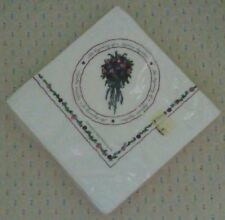 Gibson Greetings Beautiful Wedding/Engagement Beverage Napkins-16 total *New*.