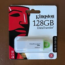 Kingston DataTraveler G4 USB 128GB USB 3.0 Flash Drive FAST Memory Sticks GREEN