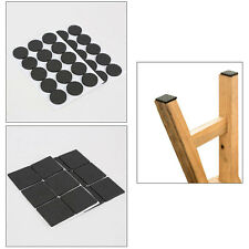 12pcs/48pcs Furniture Legs Tip Feet Sticky Mat Pad Wood Floor Scratch Proof Nice