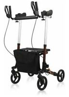 GIVE ME Upright Walker Stand Up Folding Rollator Back Erect Rolling Walking Aid