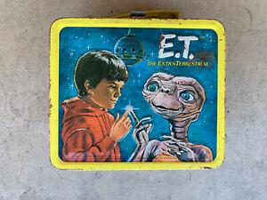 1982 Vintage E.T. Metal Lunch Box. Aladdin