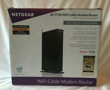 NETGEAR C6300 AC1750 WiFi Cable Modem Router Xfinity Time Warner Spectrum