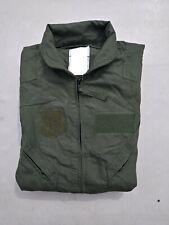 Military Surplus CWU-27/P Summer Flight Suit Nomex Sage Green Size 38R