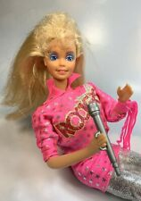 1986 Barbie and the Rockers 1980s Doll 3055 real dancin action