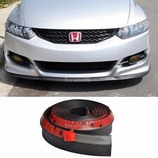 Universal Fits Front Bumper Lip Bodykits Splitter Valence Chin EZ to install