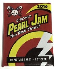 Pearl Jam Unopened Baseball Card Pack Chicago 2016 Wrigley Field Rare Cubs Ivy