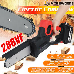 800W/150W One-Hand Saw Woodworking Electric Chain Saw Wood Cutter Cordless