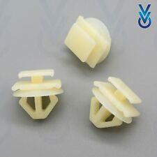 10x Citroen//Peugeot Esterno Della Porta Tagliare Clip bumpstrip//Rub Strisce stampaggio
