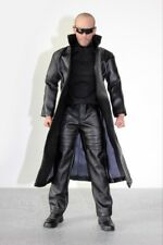 "DOLLSFIGURE 1:6 Scale 12"" Male Action Figure Accessory Black jacket coat suit"