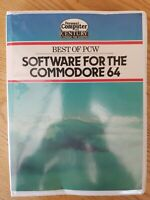 COMMODORE C64 64 - BEST OF PCW SOFTWARE FOR THE COMMODORE 64 - BIG BOX & BOOK
