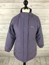 REEBOK Retro Quilted Coat - UK12 - Purple - Great Condition