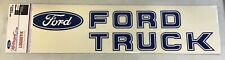 FORD MOTORSPORT FORD TRUCK & OVAL LARGE LOGO DECAL/STICKER 22.75 INCHES NEW