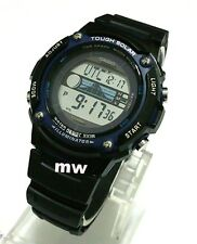 Casio W-S210H-1A W-S210H-1AVDF Men Sport Digital Alarm Black Strap Watch New