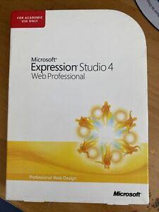 Microsoft Expression Studio 4 Web Professional Design/Encoder ACADEMIC USE ONLY