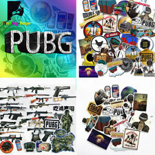29/30pcs PUBG Stickers For Laptop Car Luggage Skateboard Pad Computer Bicycle