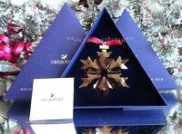 2018 *NIB* SWAROVSKI HOLIDAY RED LARGE CHRISTMAS ORNAMENT STAR SNOWFLAKE 5450487