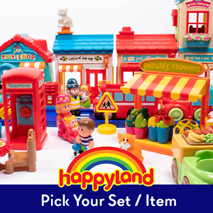 PICK YOUR PART / SET / VEHICLE / FIGURE - ELC Happyland Pre-owned Store