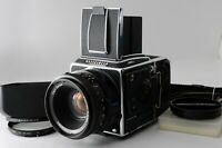 [Mint++]HASSELBLAD 205FCC + Planar 80mm f/2.8 + E24 6x6 film back From JAPAN