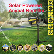 Animal Deterrent Cat Dog Sheep Repeller Solar Powered Motion Sprinkler Timer