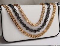 20-120 CM Flat Chain For Handbag Or Shoulder Strap Bag Purse #57