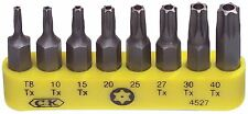 C.K. Bit tool set 8x safety torx