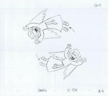 Simpsons Harpies Original Art Animation Production Pencils FABF16 SC-83A A-6