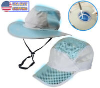 Polar Hydro Evaporative Cooling Hat UV Reflective Protection Bucket Solar Cap