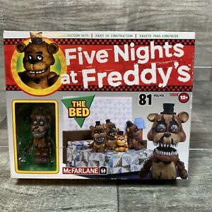 NEW Five Nights At Freddy's The Bed Construction Set 12038 Nightmare Freddy 81pc