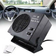 12V Ceramic Heating Dual Switch Car Van Interior Fan Heater Defroster Demister
