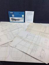 Modellbau Plan Verkehrsflugzeug Douglas DC 3 - Li 2 MOBA Modellflugzeug Bauplan