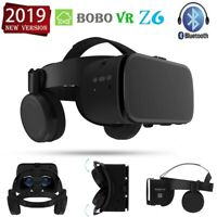 New BOBOVR Z6 Virtual Reality Headset VR Glasses Box with Bluetooth Headsets