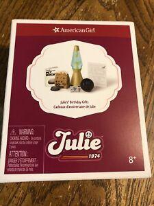 American Girl Julie Birthday Gifts NIB NRFB Pet Rock Lava Lamp NEW