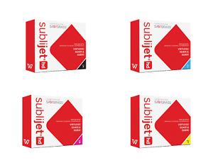 Sawgrass SubliJet-HD Dye Sublimation Ink Cartridges for SG400/SG800