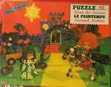 Puzzle Le Printemps, Fernand Nathan, 1974 - Cavahel Vintage