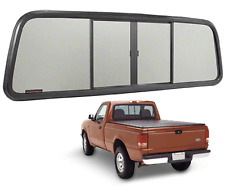 OEM Duo-Vent Back Glass Slider With Dark Gray Glass for 1973-1996 Ford F-150