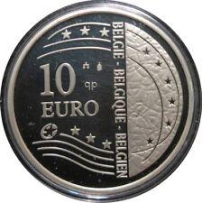 334 - 10 EUROS BELGIQUE 2004 - Argent