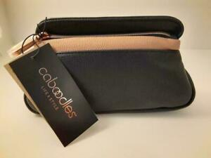 Caboodles Life & Style Zip Pop Large Makeup Hand Bag Cosmetic Travel Tote Clutch