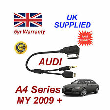 For AUDI A4 Series AMI MMI For Apple iPhone 5 5c 5s 6 6 plus 8 pin & AUX Cable S